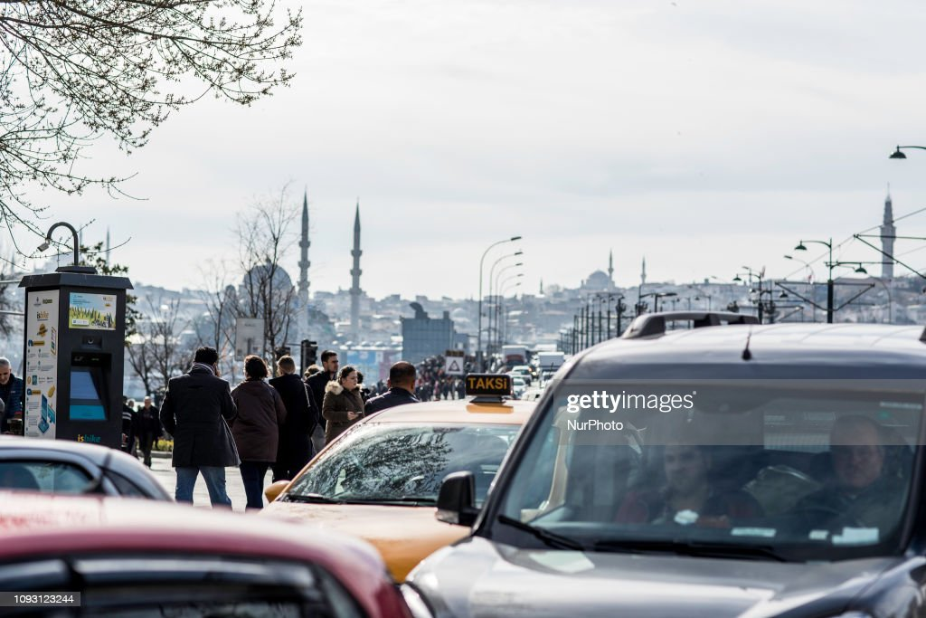 Daily Life In Istanbul : News Photo