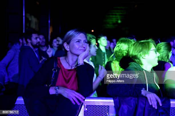People during Club to Club Sound System at the OGR Big Bang event on October 7 2017 in Turin Italy