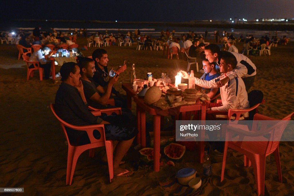 Laylat al-Qadr celebrations in Rabat : News Photo