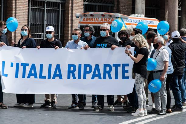 ITA: Matteo Salvini's Demonstration 'First Italy'