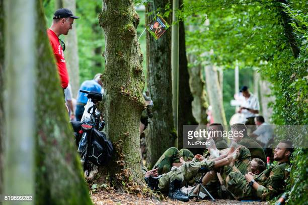 People during the Third day of the International Four Days Marches in Nijmegen Netherland on July 20 2017 Since it is the worlds biggest multiday...
