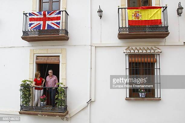 People during wedding of Lady Charlotte and Alejandro Santo Domingo on May 28 2016 in Granada Spain