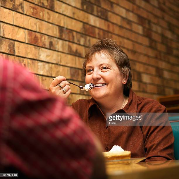 People Eating at a Diner