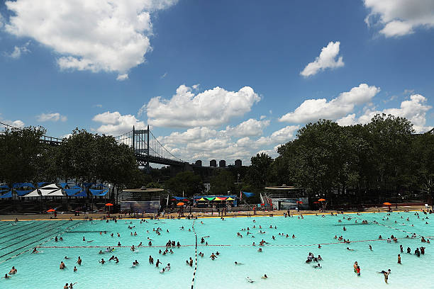 Public Pools Open In New York City For The Summer Photos And Images Getty Images