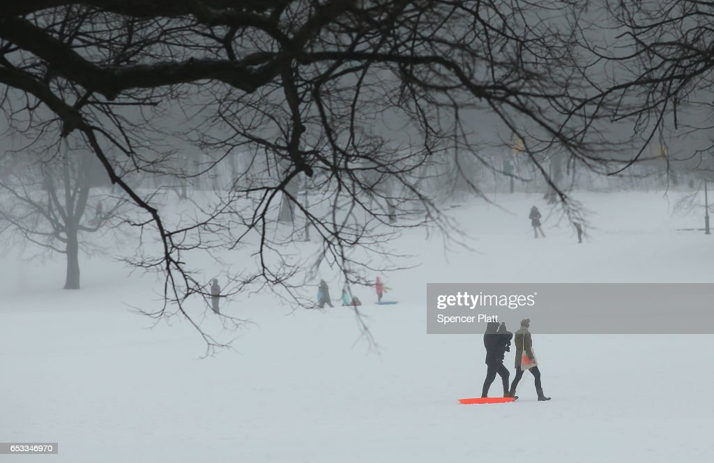 Major Blizzard Hammers East Coast With High Winds And Heavy Snow : News Photo