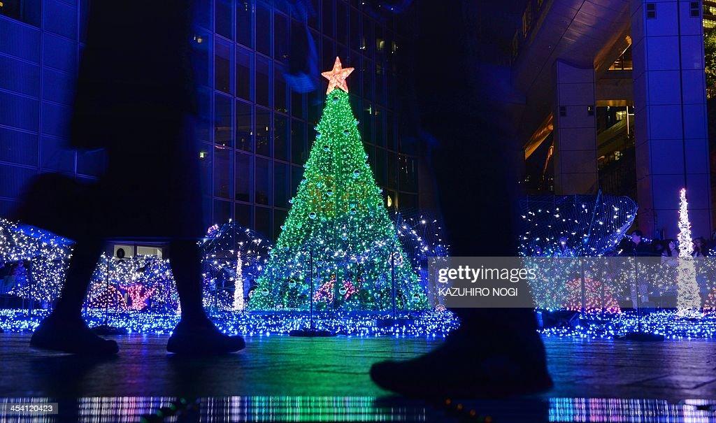 JAPAN-CHRISTMAS-ILLUMINATION : News Photo