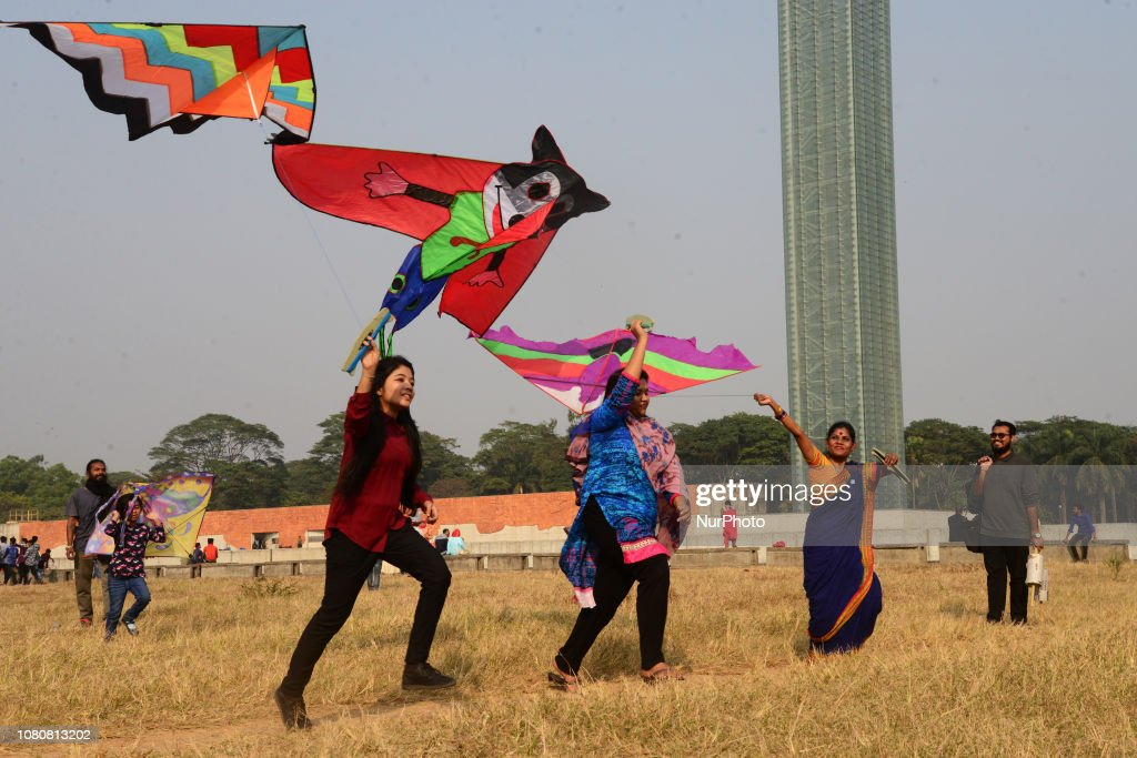 Kite Festival Celebration In Dhaka : News Photo