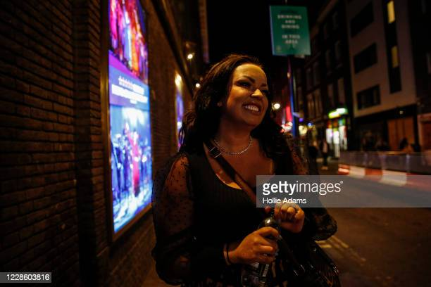 People enjoy the nightlife in Soho on September 19, 2020 in London, England. The British government reported 4,422 confirmed UK cases on Saturday,...
