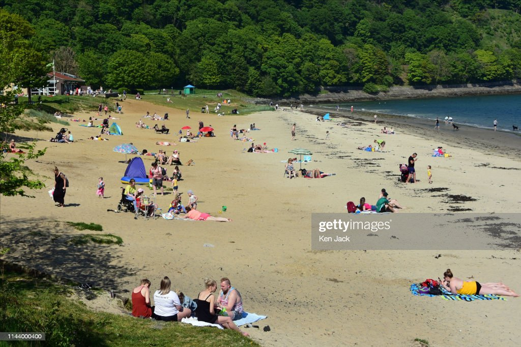 Scotland Has Its Warmest Day Of The Year : Foto di attualità
