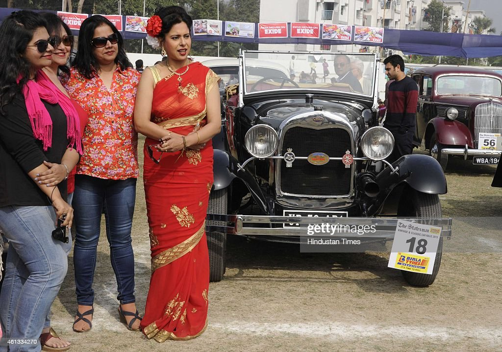 Vintage Car Rally 2015 In Kolkata Photos and Images   Getty Images