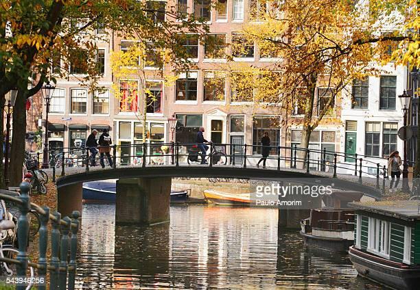 People Enjoying in Amsterdam