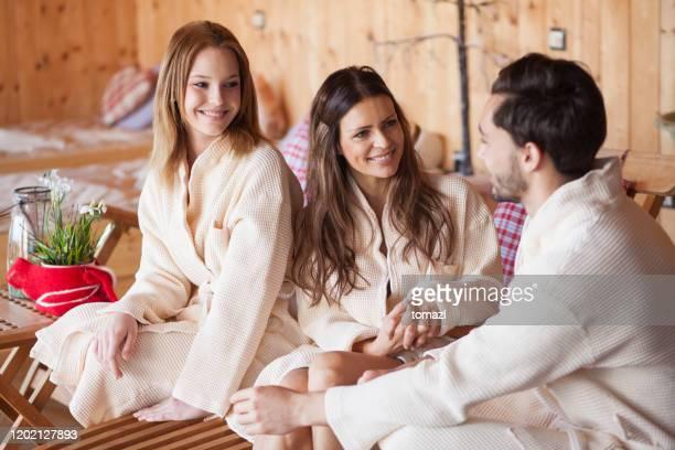 Family Sauna Porn
