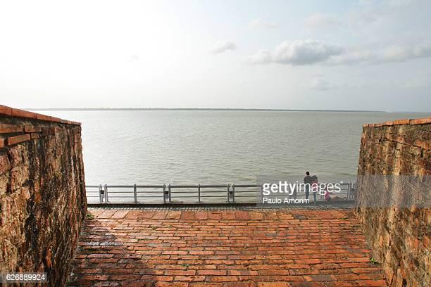 People Enjoying the view in Amazon,Brazil
