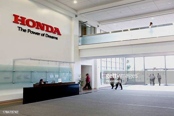 People Enter The American Honda Motor Co Inc Headquarters In Torrance California US On Tuesday Aug