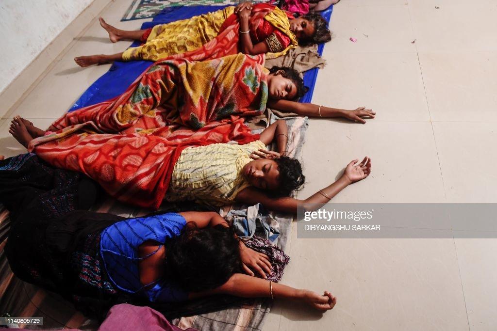 INDIA-WEATHER-FANI-CYCLONE : News Photo