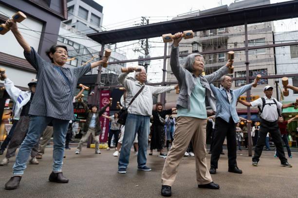 JPN: Japan Marks Respect For The Aged Day
