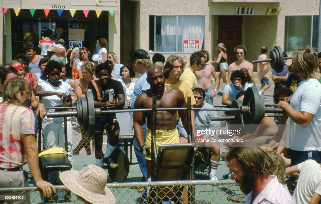 Muscle Beach Pictures   Getty Images