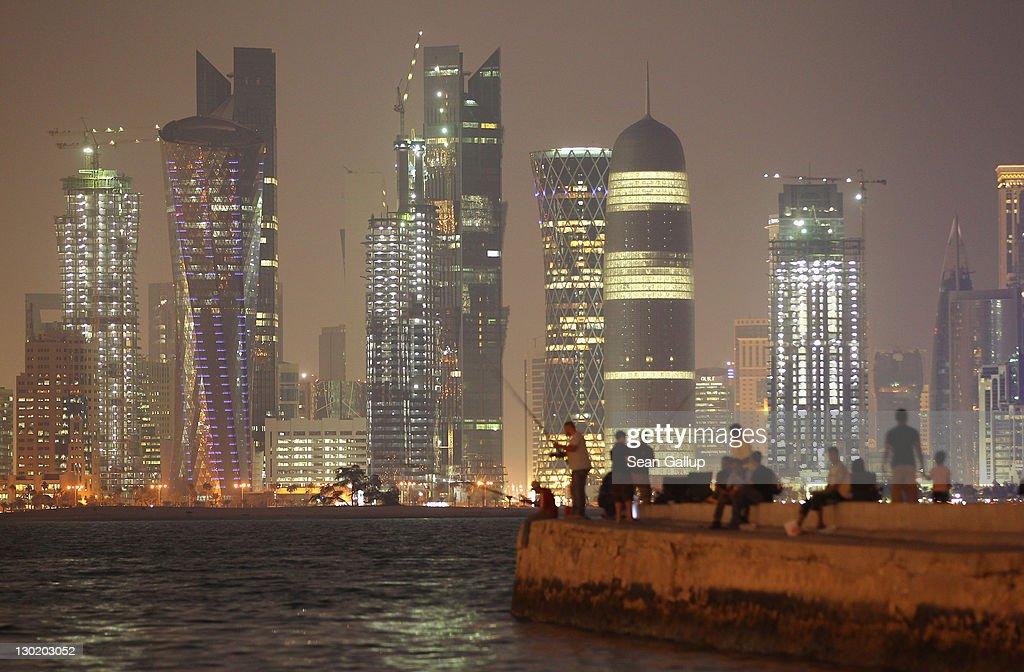 Qatar Looks To 2022 FIFA World Cup : News Photo