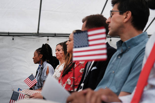 NY: Naturalization Ceremony Held For New Citizens In Brooklyn Farmhouse Museum