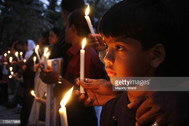 People from all walks of life held a candlelight vigil mourning in memory of those who lost their lives in the BDR mutiny at the park opposite BRD...