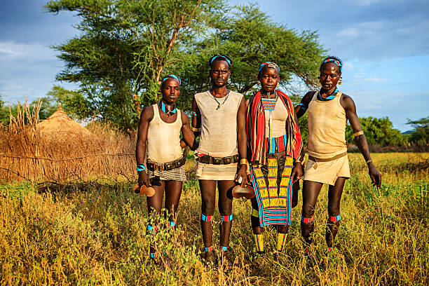 African Tribe Family