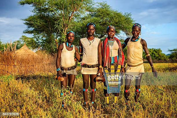 People from Samai tribe, Ethiopia, Africa
