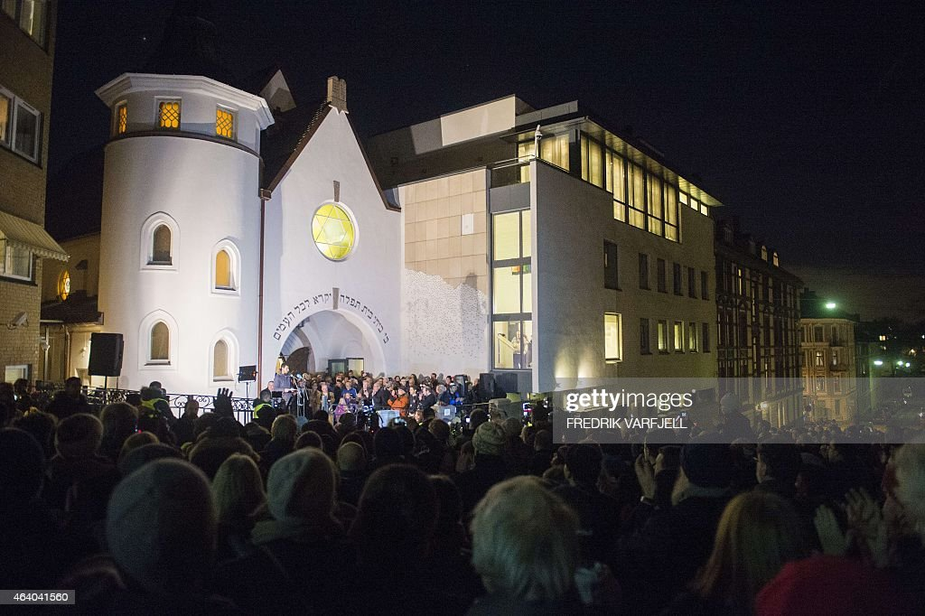 NORWAY-DENMARK-ATTACKS-ISLAM-JUDAISM : News Photo