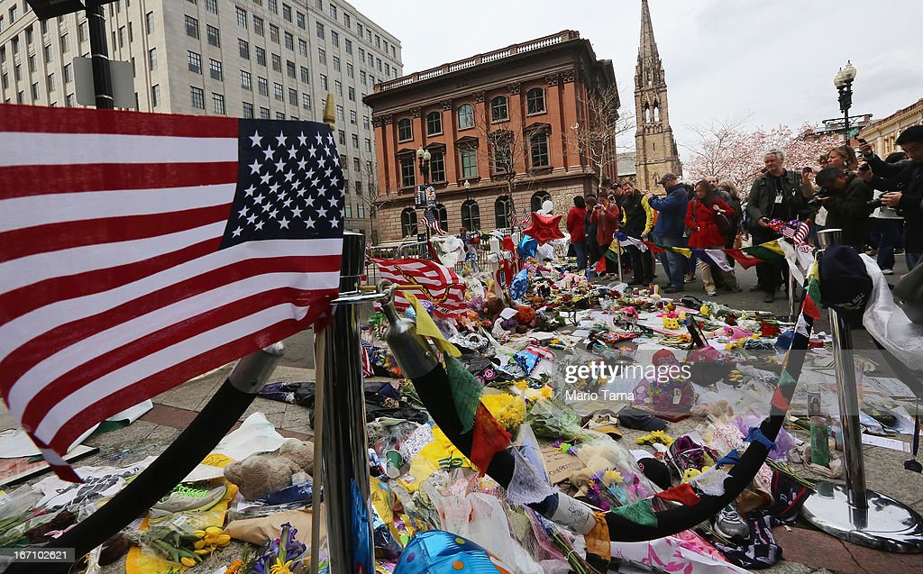 Boston Marathon Bombing Investigation Continues Day After Second Suspect Apprehended : News Photo