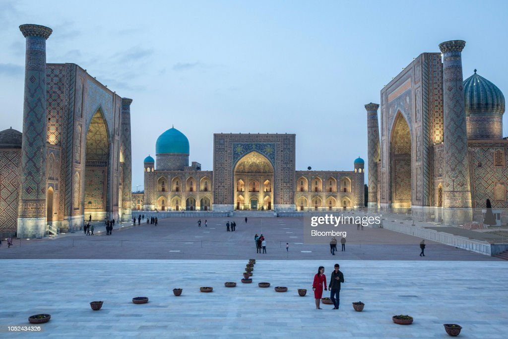 Trading Cities on the Ancient Silk Road in Uzbekistan : News Photo