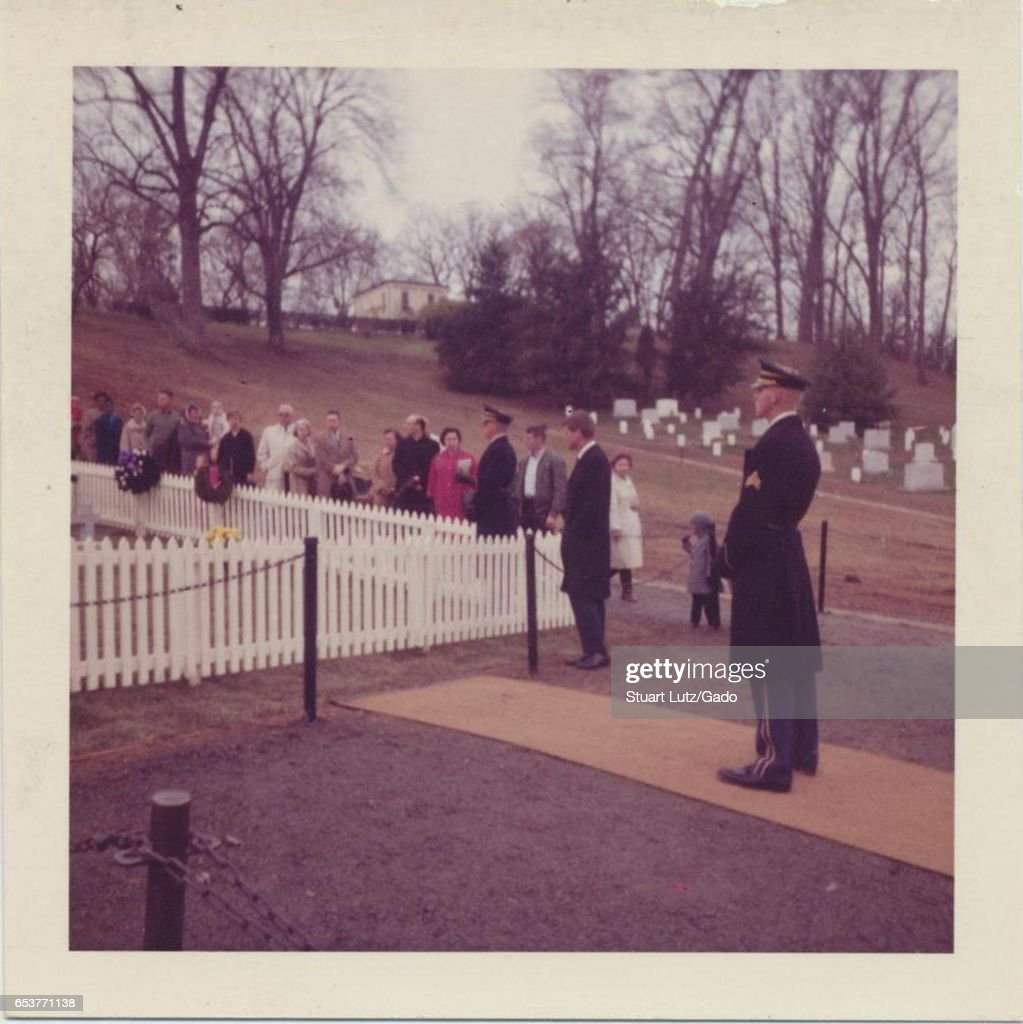 JFK Grave : News Photo