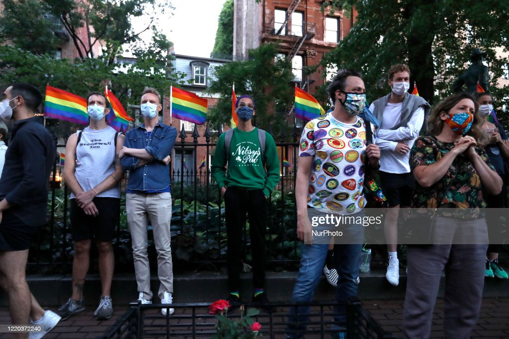 Federal Law Protects LGBTQ Workers From Discrimination : News Photo