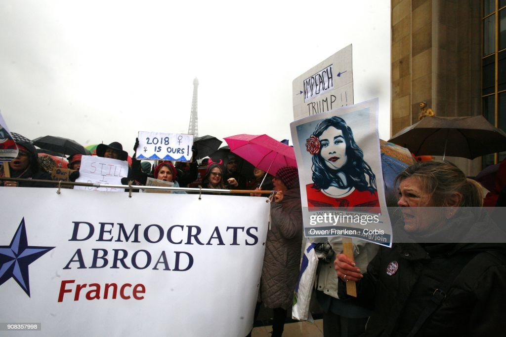 """Women's March - On Paris"" In Paris"