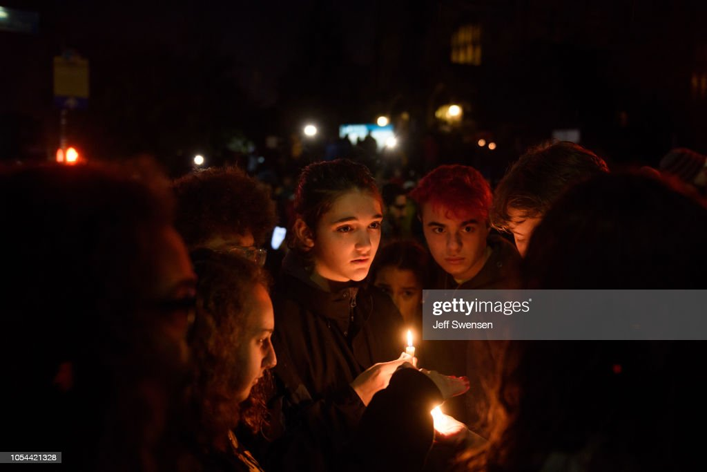 Shooter Opens Fire At Pittsburgh Synagogue : News Photo