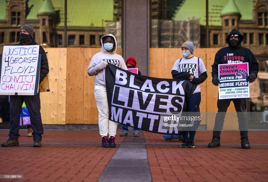 Minneapolis Prepares For Possible Unrest As George Floyd Trial Approaches : News Photo