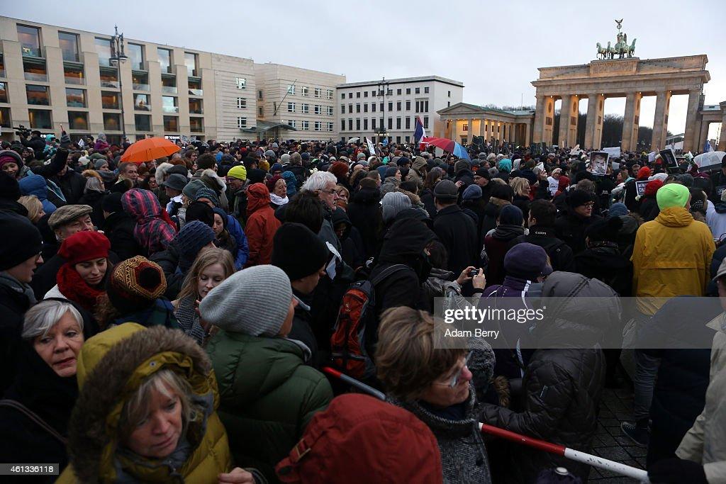 Mass Unity Rallies Held Around The World Following Recent Terrorist Attacks : News Photo
