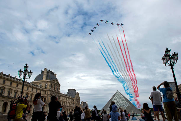 FRA: Bastille Day Ceremony In Paris