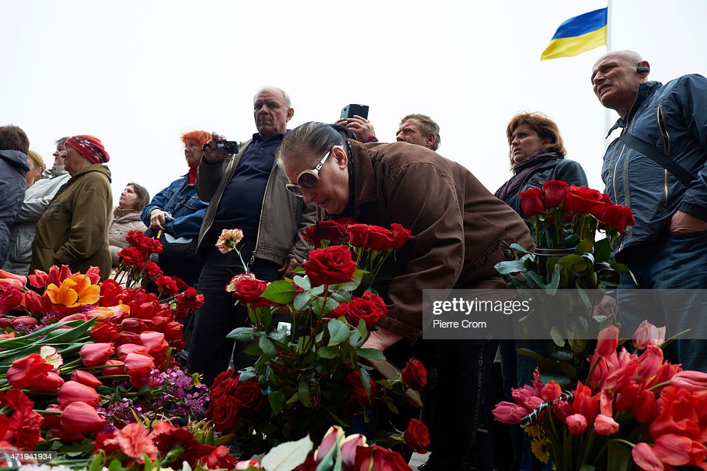 Odessa Remembers The First Anniversary of The Deadly Riots : News Photo