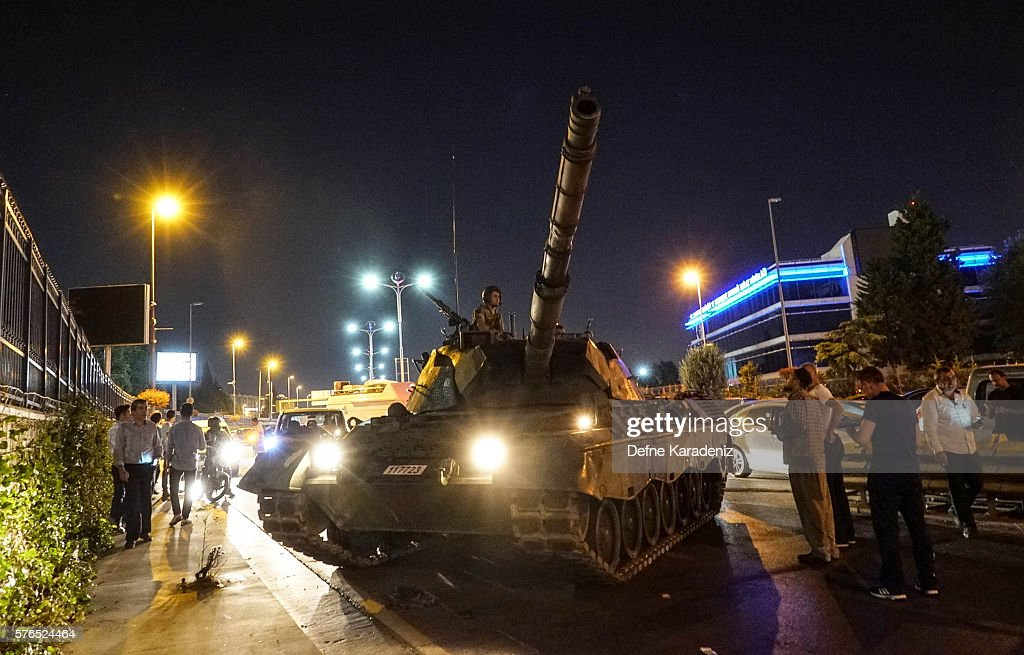 Military Occupy Strategic Locations In Turkey : News Photo