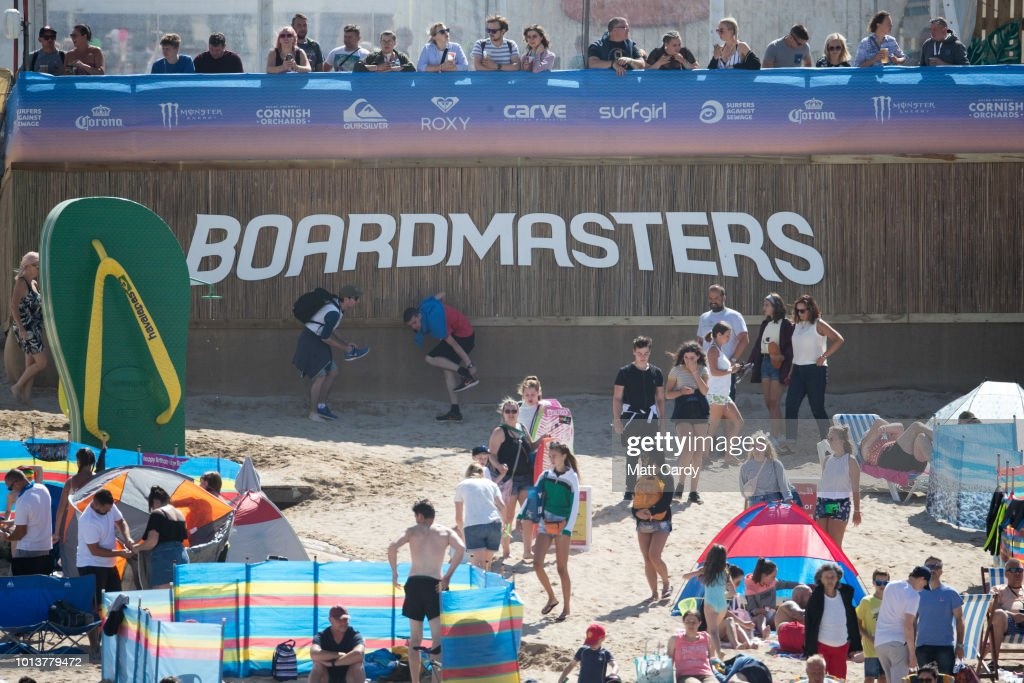 The Boardmasters 2018 Surf Festival Takes Place In Cornwall : News Photo