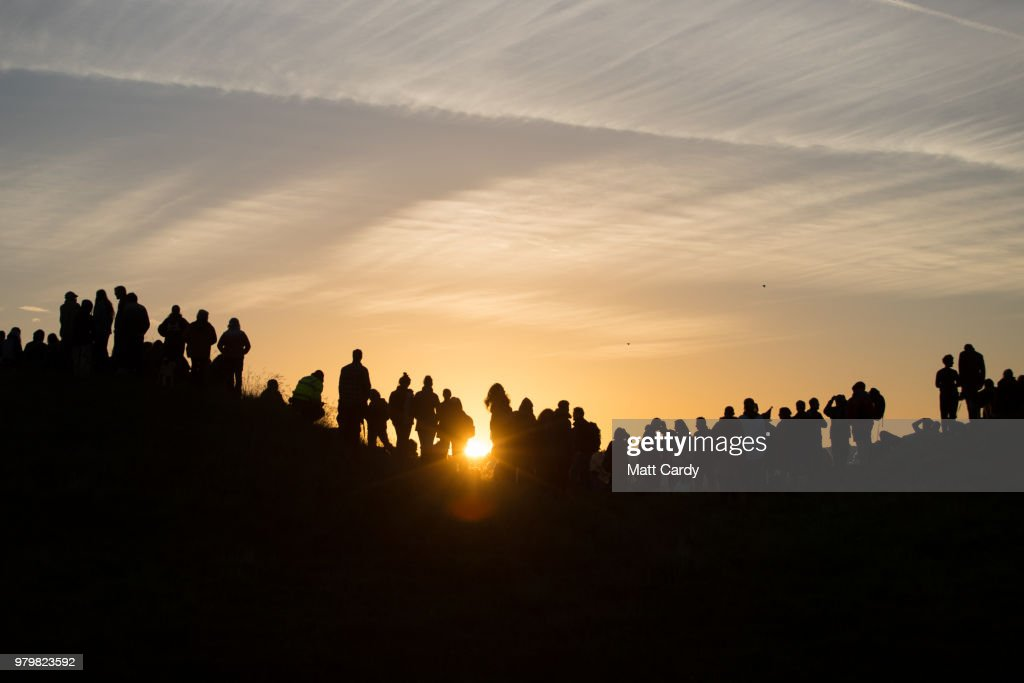 Summer Solstice Is Celebrated At Avebury's Neolithic Henge