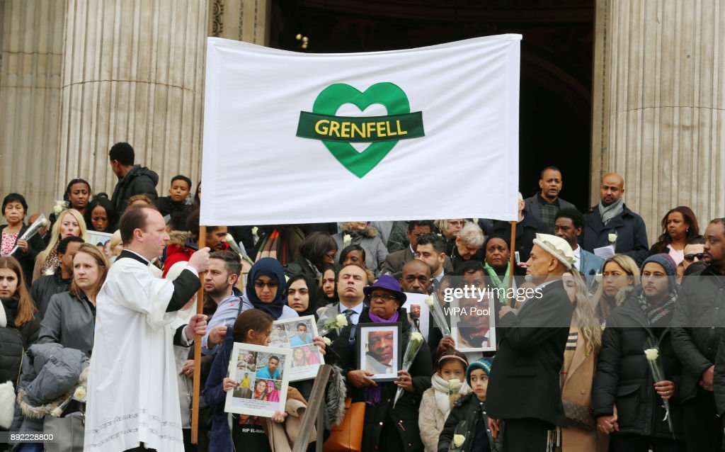 Grenfell Tower National Memorial Service : News Photo
