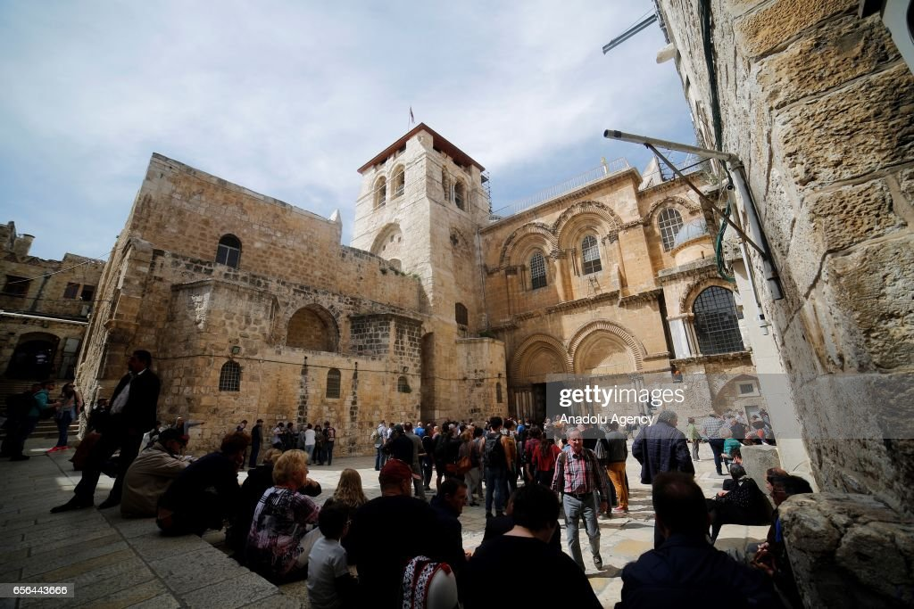 Church of the Holy Sepulchre  : News Photo
