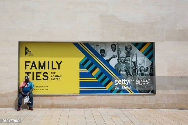 People gather outside the Black Cultural Archives gallery to celebrate the 70th anniversary of the arrival of the passenger liner Empire Windrush and...