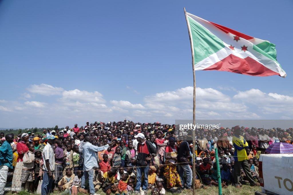 BURUNDI-POLITICS-REFERENDUM-PRESIDENT : News Photo