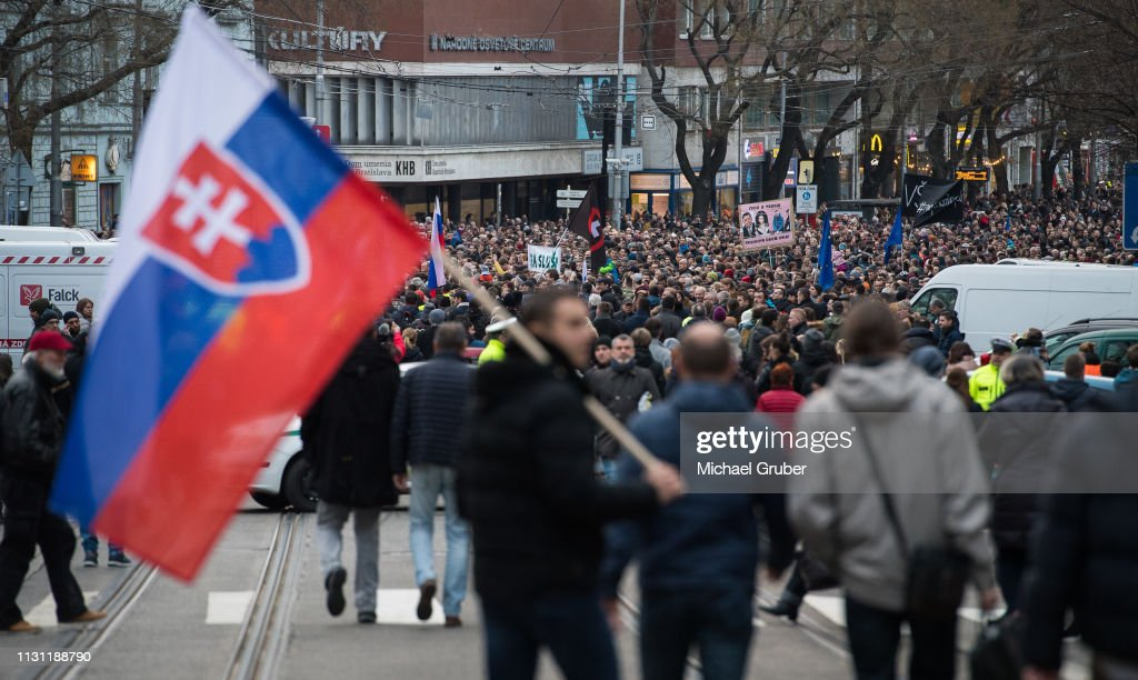 SVK: Slovakia Commemorates Jan Kuciak Murder First Anniversary
