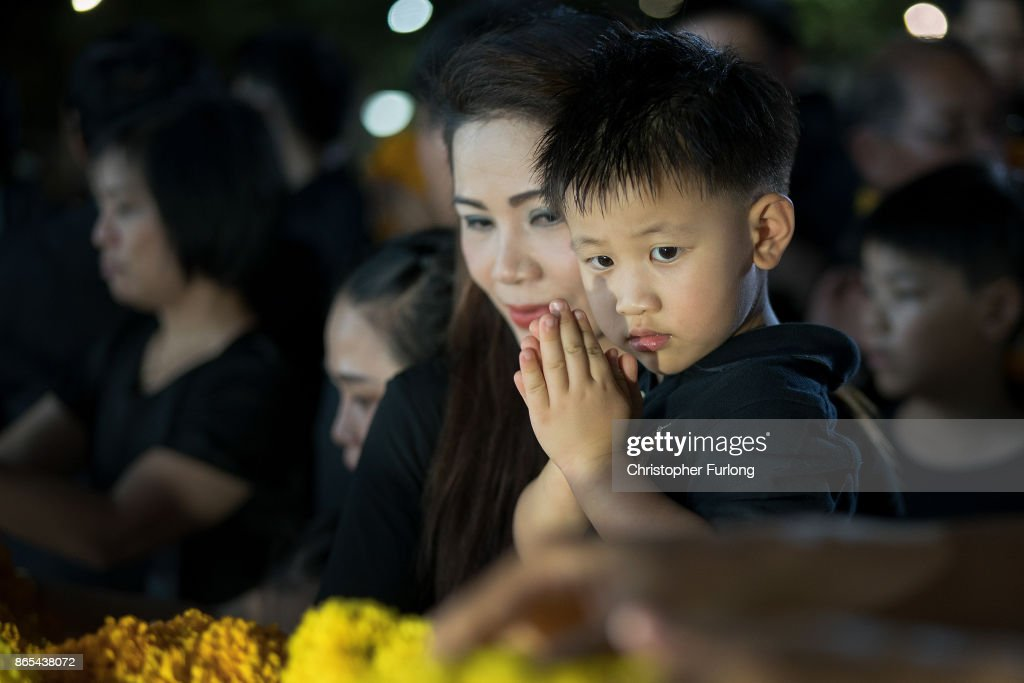 Thailand Prepares For King Bhumibol Funeral