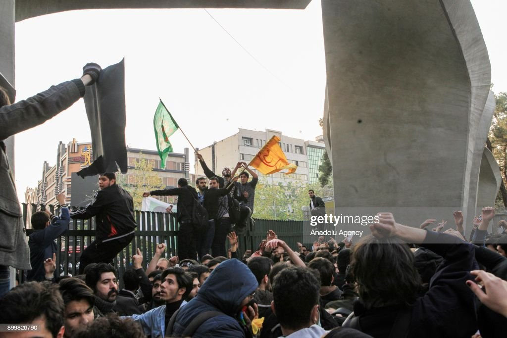 Protest in Iran : News Photo
