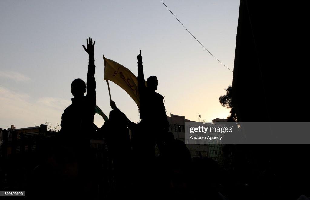 Protest in Iran : News Photo