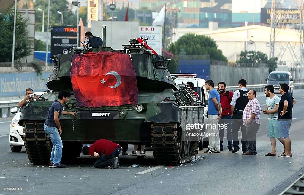 Turkey stand against military coup attempt : News Photo