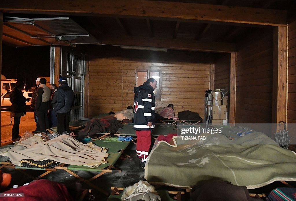 ITALY-QUAKE : News Photo